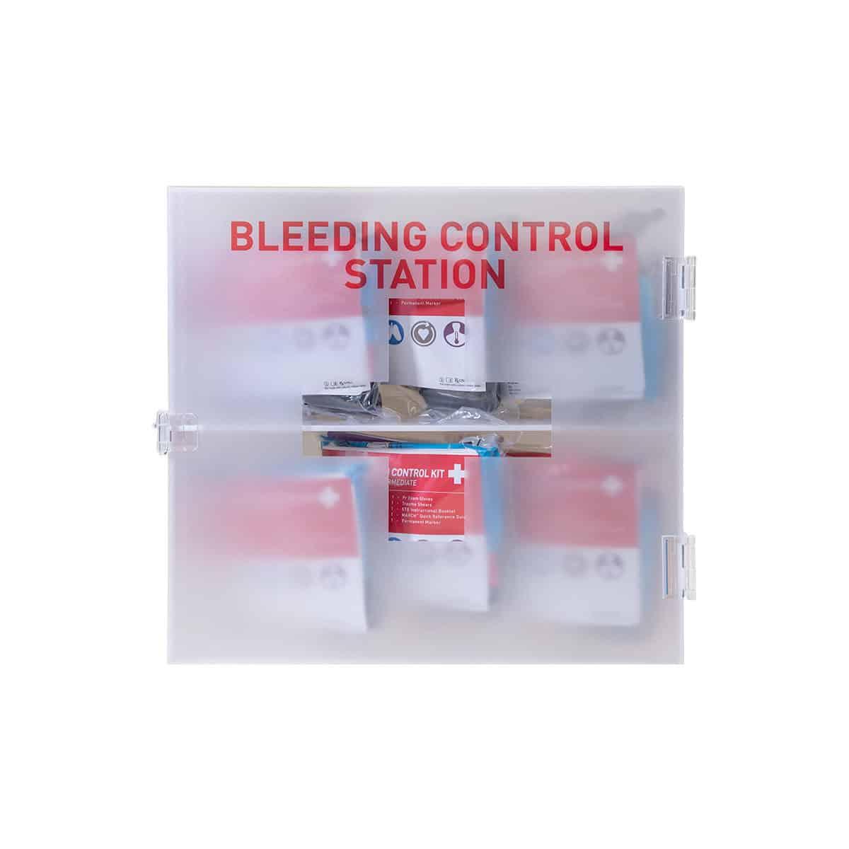 bleeding control carry set station intermediate