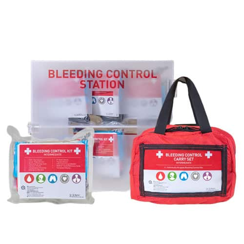 bleeding control kits stations