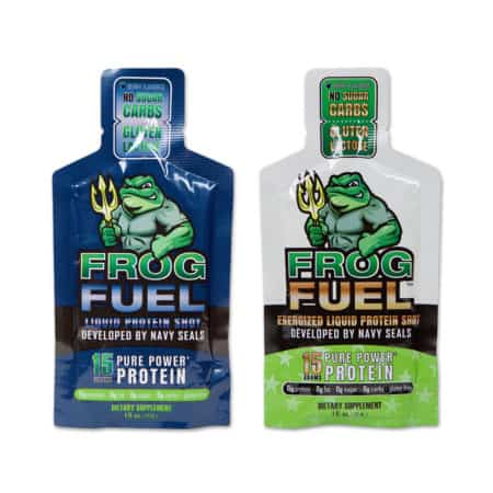 frog fuel liquid protein shot packets