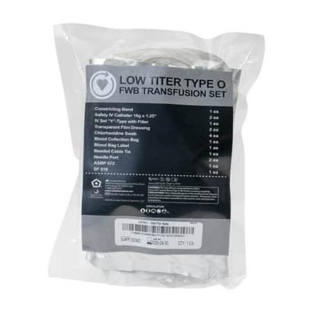 low titer type o