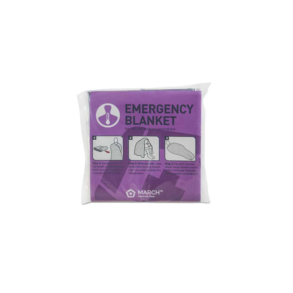 march emergency blanket