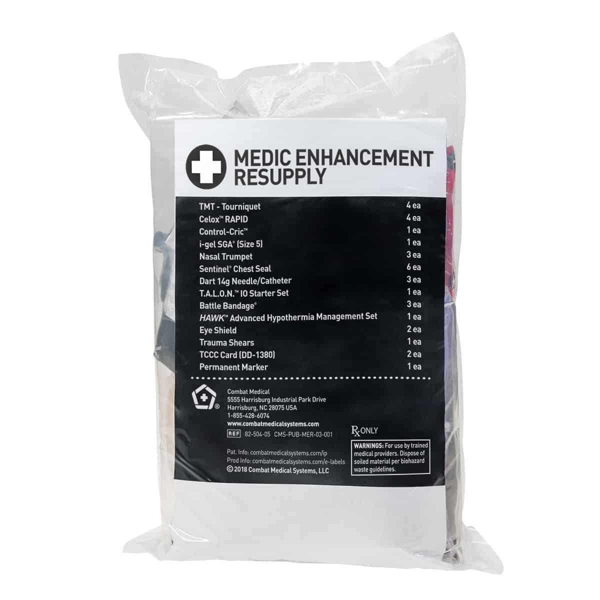 medic enhancement resupply