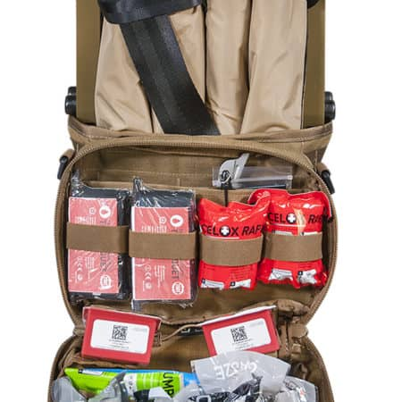 mojo aid and litter kit front open