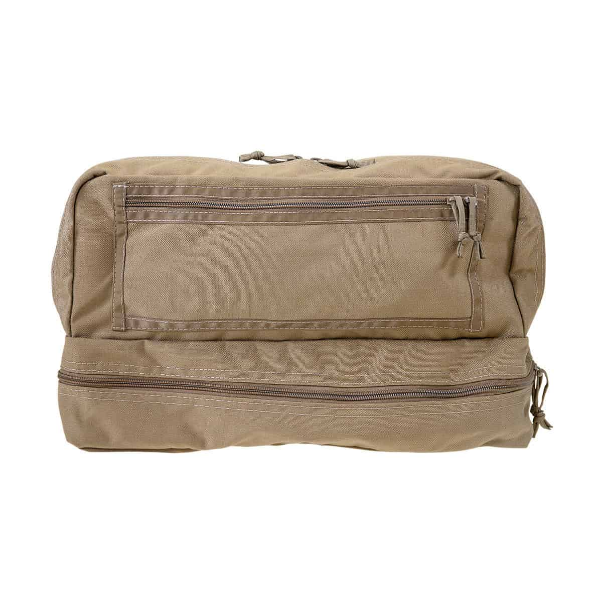 mojo combat life saver bag closed front coyote brown