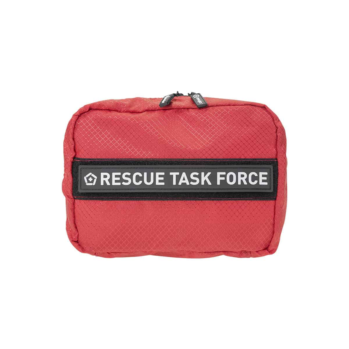mojo crisis responder bag closed front with patch red