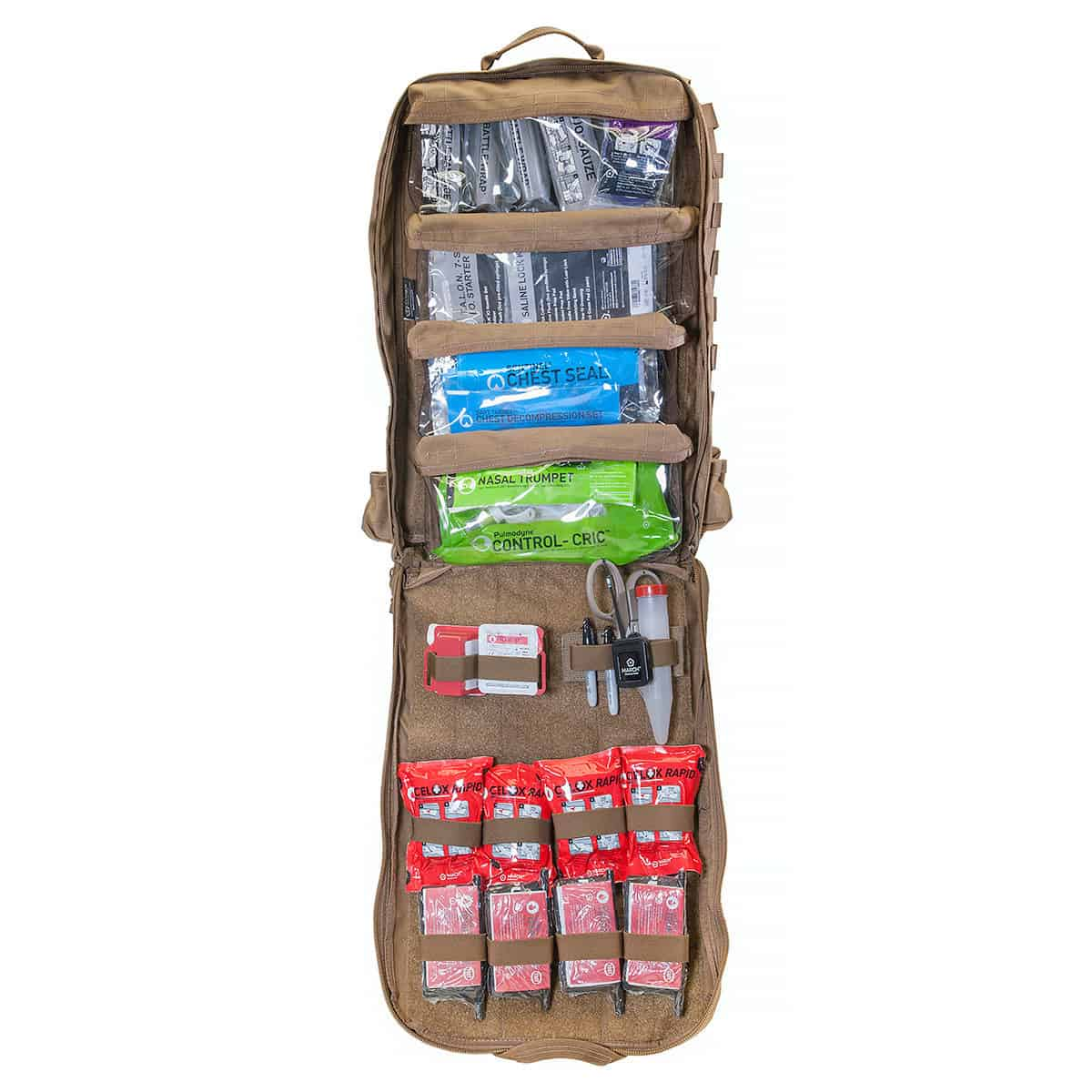 mojo direct action aid bag front open advanced coyote brown