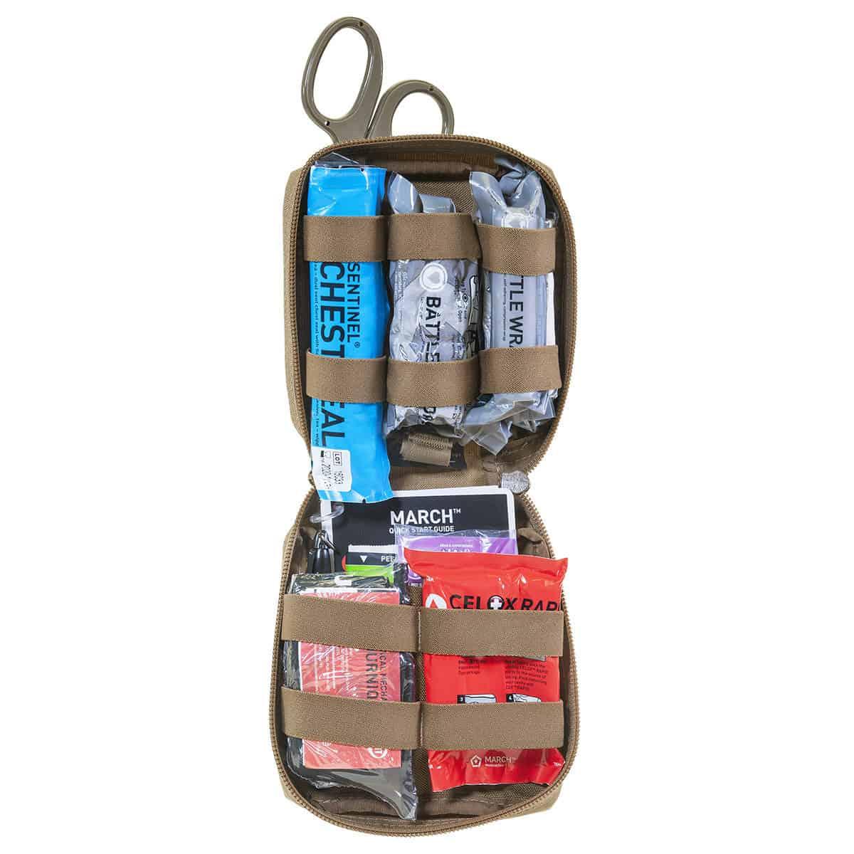 mojo ifak bag open front intermediate coyote brown