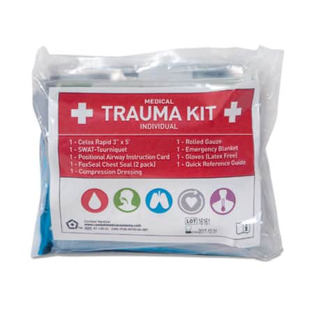 mojo individual medical trauma kit