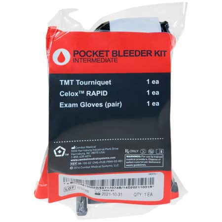mojo pocket bleeder kit intermediate packaged