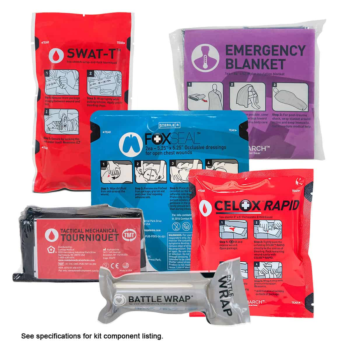 mojo pocket trauma kit items