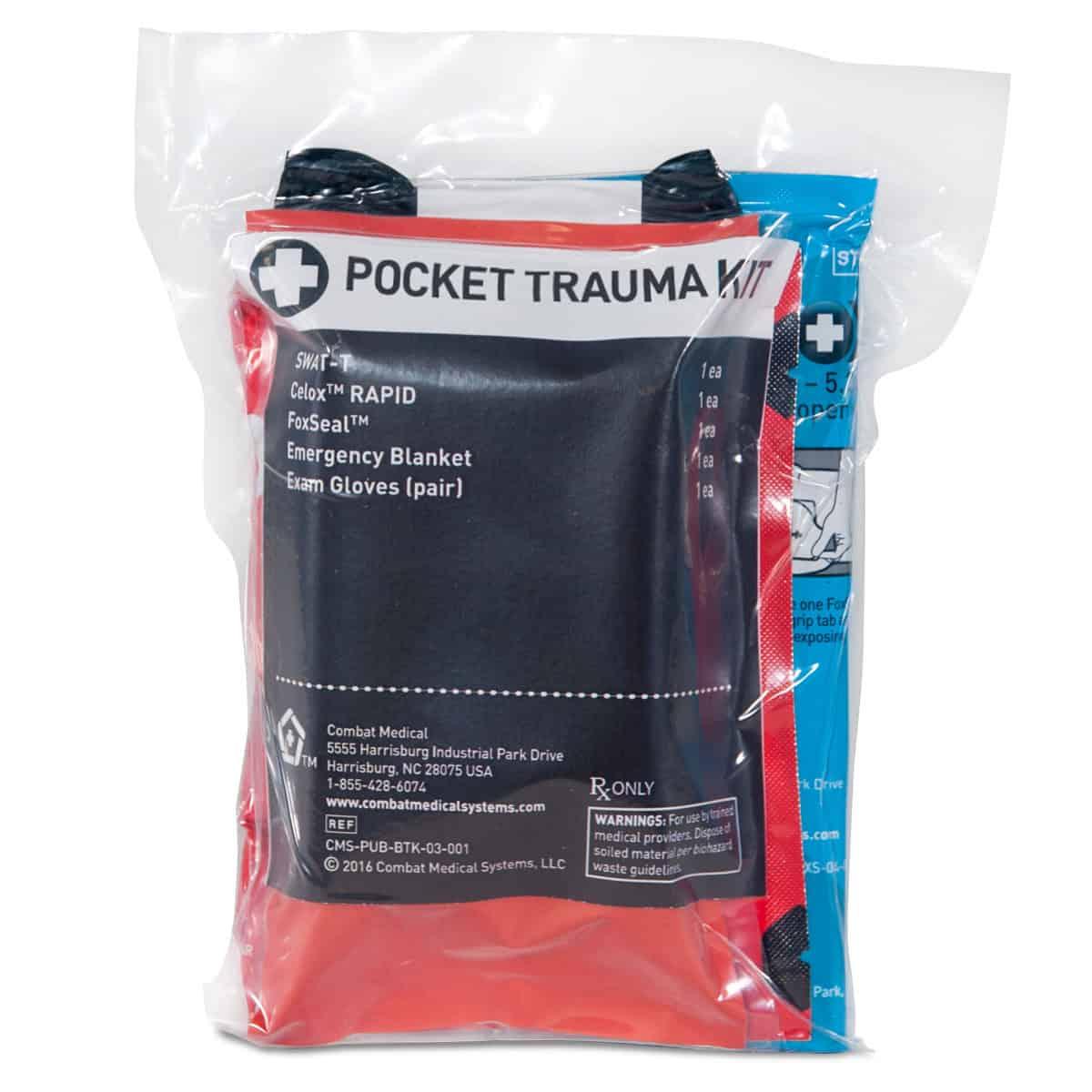 mojo pocket trauma kit packaged