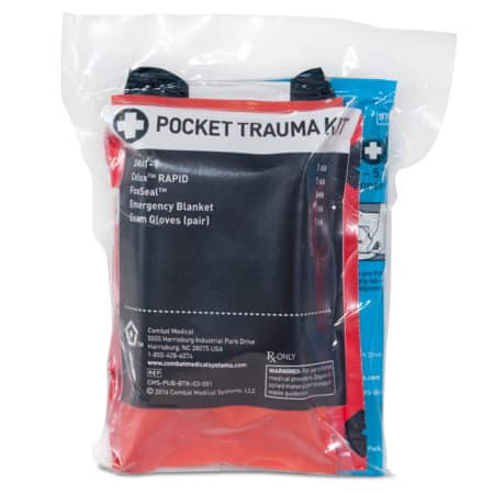 mojo pocket trauma kit packaged