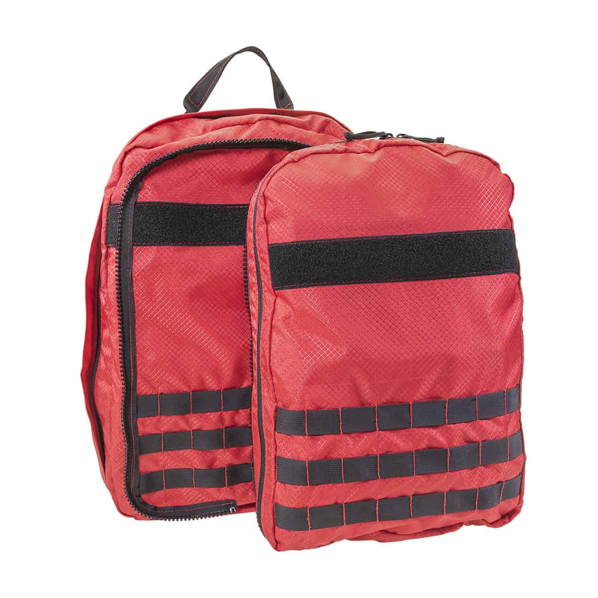 mojo rescue pack separated closed front red