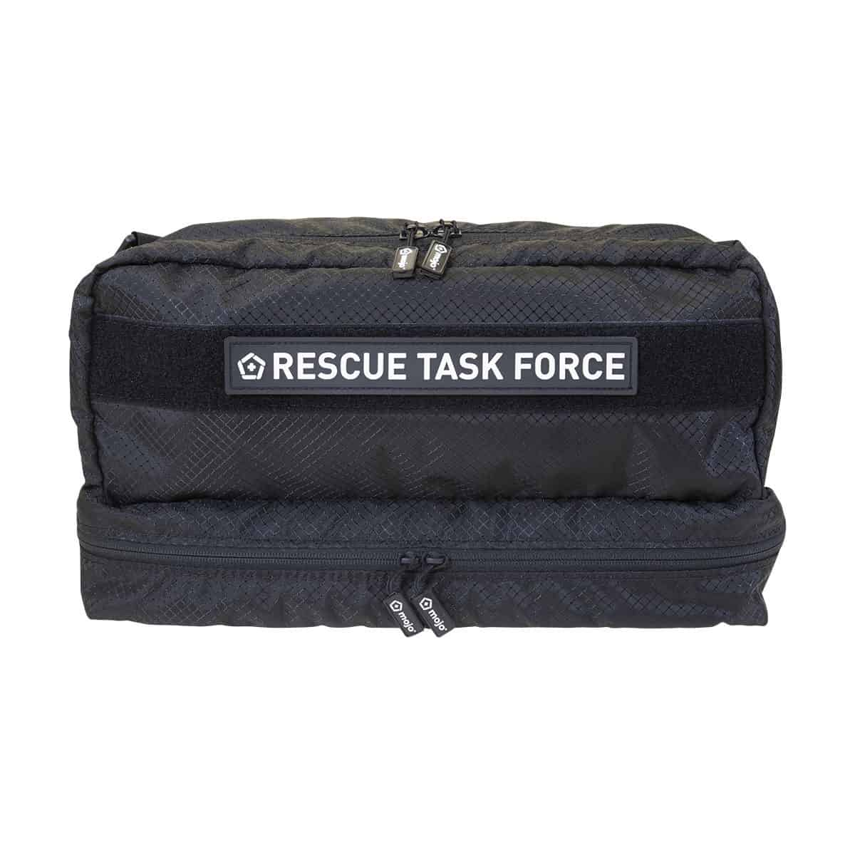 mojo rescue task force with patch closed front black