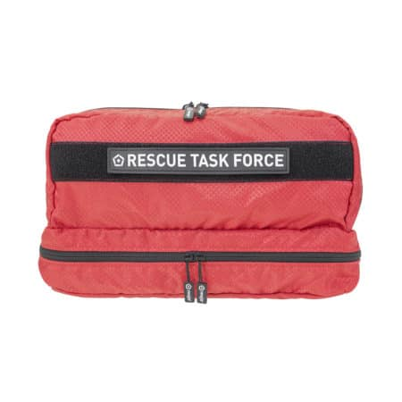 mojo rescue task force with patch closed front red
