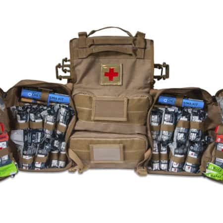 mojo vehicle medical bag open