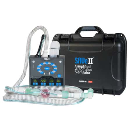 save ii ventilator with hard case
