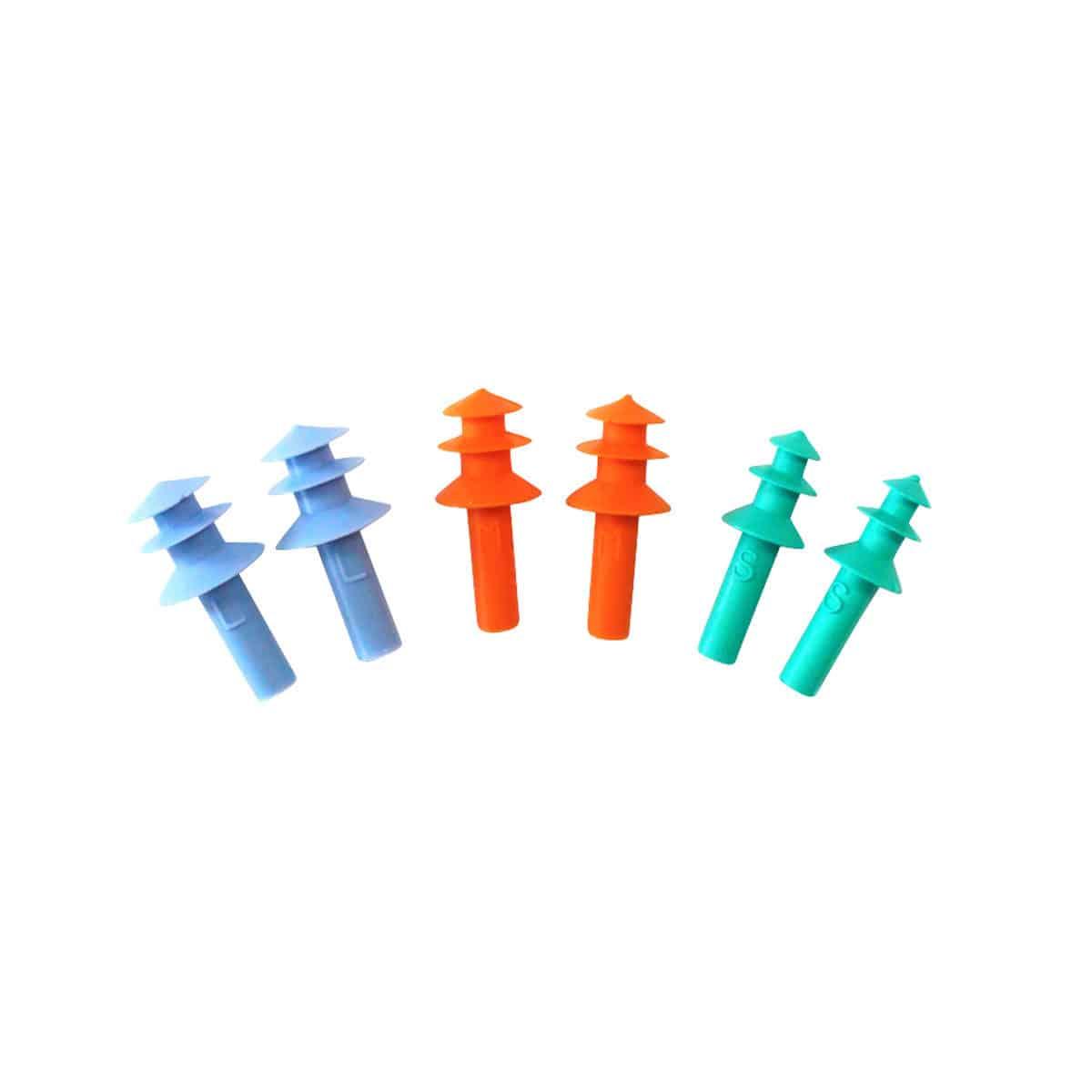 tasco tri silicone pre molded earplugs