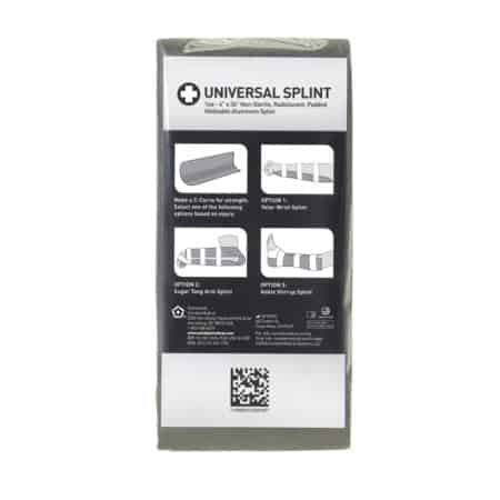 universal splint in packaging