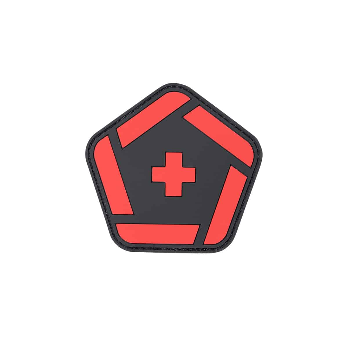 combat medical patch red