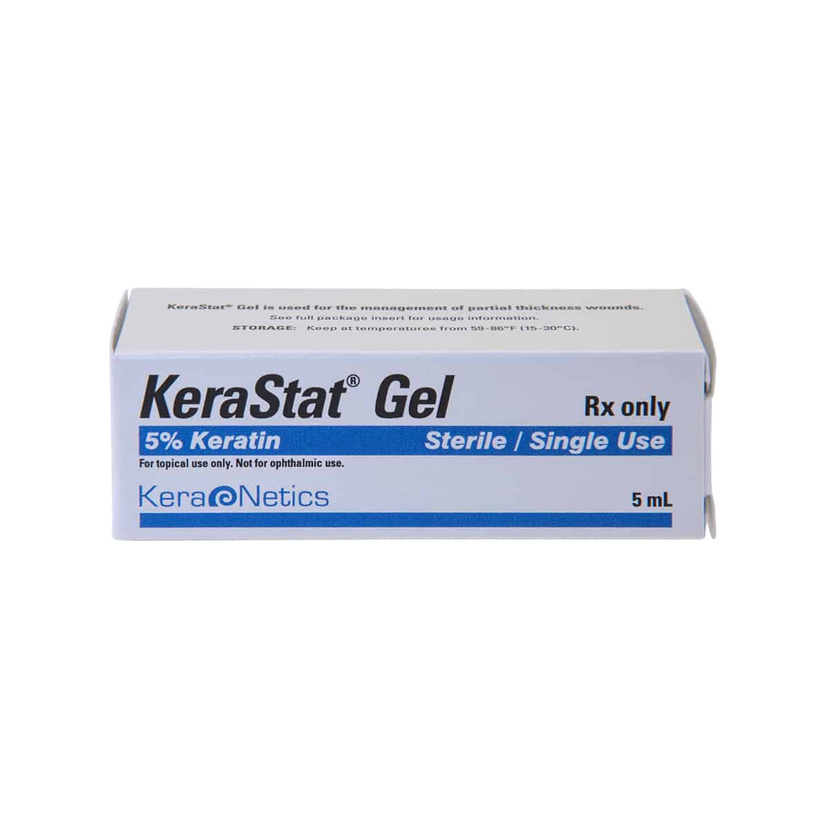 kerastat gel box front